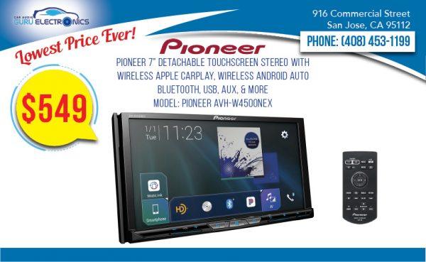 Pioneer AVH-W4500NEX 7